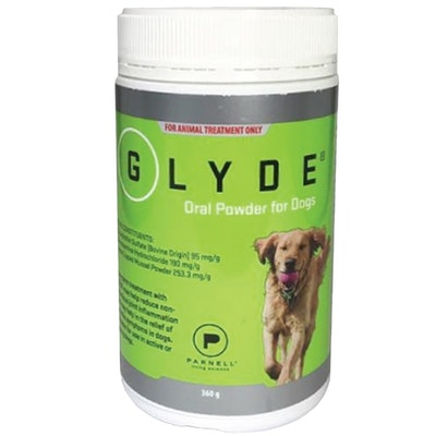 Glyde Natural Oral Powder Reduce Joint Inflammation For Dogs 360g