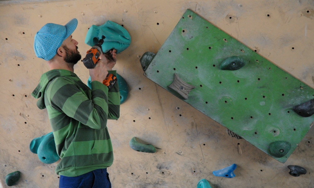 Reset Time at Burnley Bouldering Wall