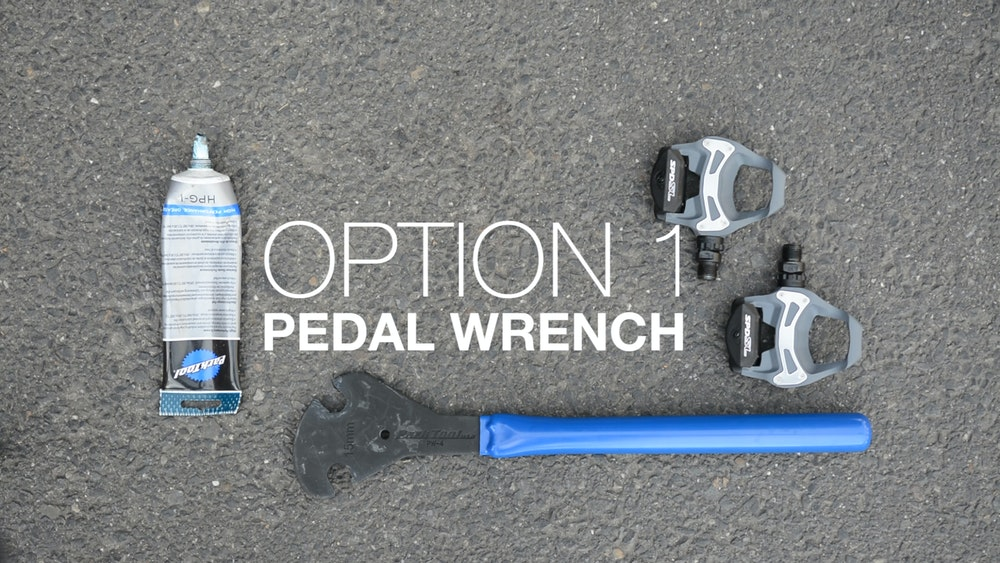 Option 1 pedal wrench