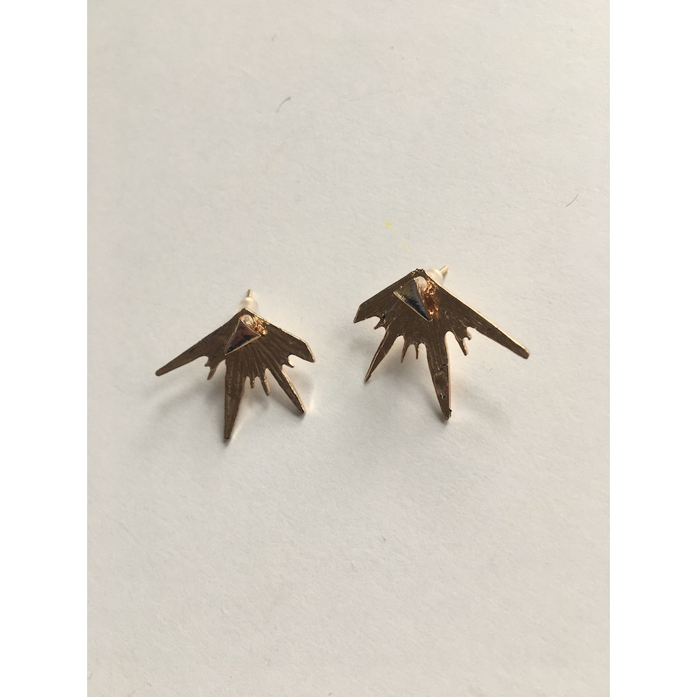 One of a Kind Club Gold Expression Earrings