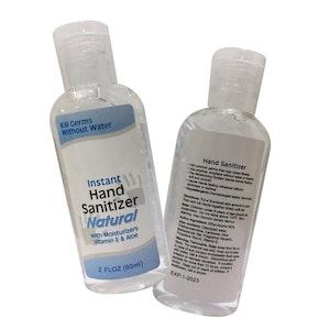 25 X 60ml Hand Sanitiser (Unbranded)