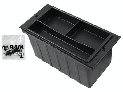 "RAM-FP4-AP :: RAM 4"" Wide Accessory Pocket With Tray"