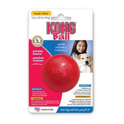 KONG Ball Rubber Dog Toy