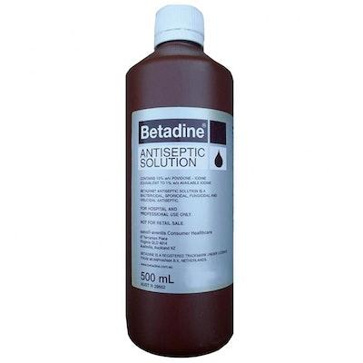 BETADINE Antiseptic Bactericidal Solution 500ml
