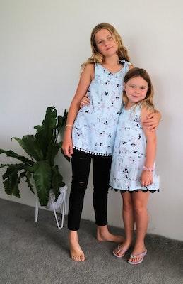 Handgrown Threads Dress - Size 6 - Ladies & Dogs