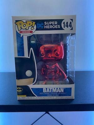 Metallic Batman  - 144 - Metallic Red Pop!