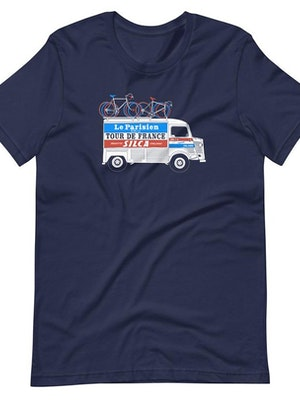 SILCA Citroen Van Tee Shirt - Navy