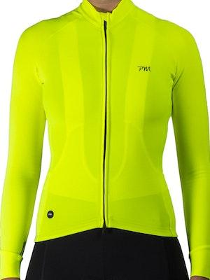 Pedal Mafia Women's Pro Thermal Jacket - Neon