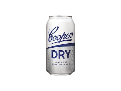 Coopers Dry Low Carb Can 375mL