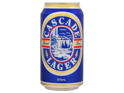 Cascade Lager (Blue) Can 375mL (AVAILABLE IN TASMANIA ONLY)