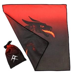 Tuvigo - Trendy Tiny Towel in a Pouch. Design: Fiercefire Dragon