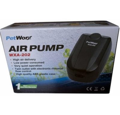 Petworx 202 Twin Air Pump