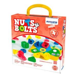 Miniland - Activity Nuts & Bolts 30 pcs