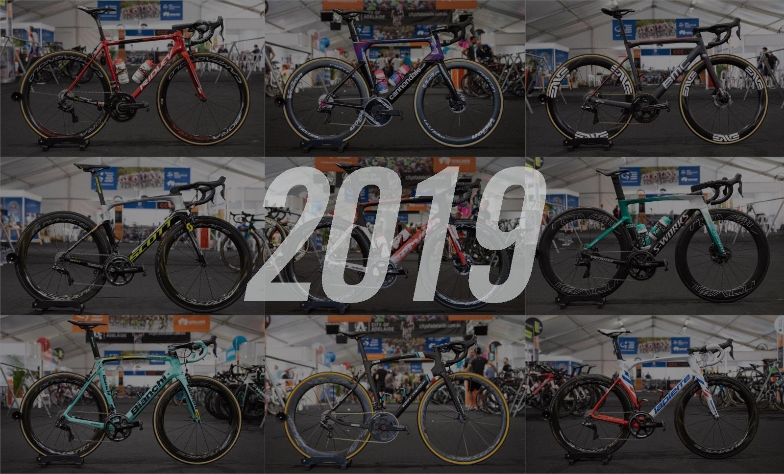 Conoce las Bicicletas Pro del WorldTour 2019