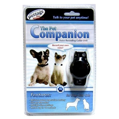 Petz Glow Systems The Pet Companion Voice Recorder- Black