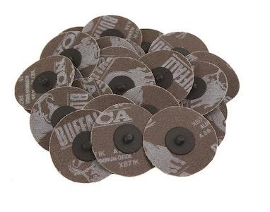 """3"""" Roloc Sanding Discs - Packs of 25"""