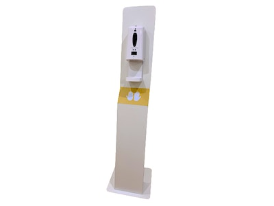 Dragon Health Services Large Full Body Stand with Sanitiser Dispenser