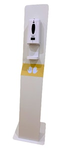 Large Full Body Stand with Sanitiser Dispenser