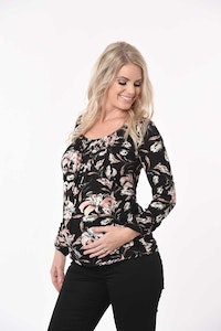 Sprout Maternity Pandora Secret Top