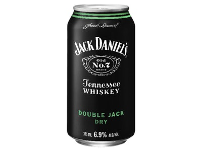 Jack Daniel's Double Jack & Dry Can 375mL