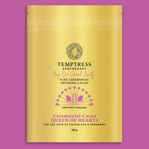 Temptress Apothecary Ceremonial Cacao – Queen of Hearts