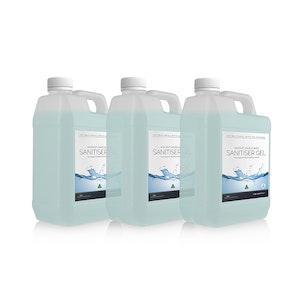 Regal by Anh Hoang Instant Alcohol Based Hand Sanitiser Gel 70% Ethanol (5 Litre) - 3 Pack