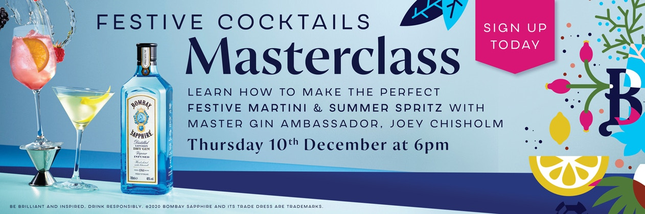 Festive cocktails masterclass