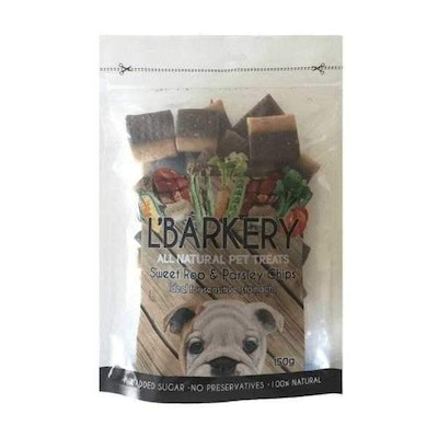 L'Barkery Sweet Roo & Parsley Chips