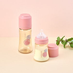 Mother-K PPSU Feeding Bottle 180ml (with SS teat)