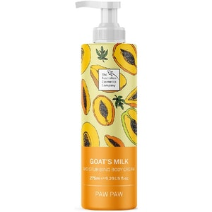 The Australian Cosmetics Company Moisturising Body Cream Paw Paw 275ml