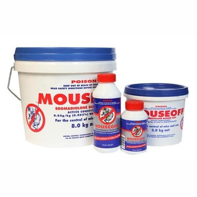 Mouseoff® Bromadiolone Rodent Grain Bait