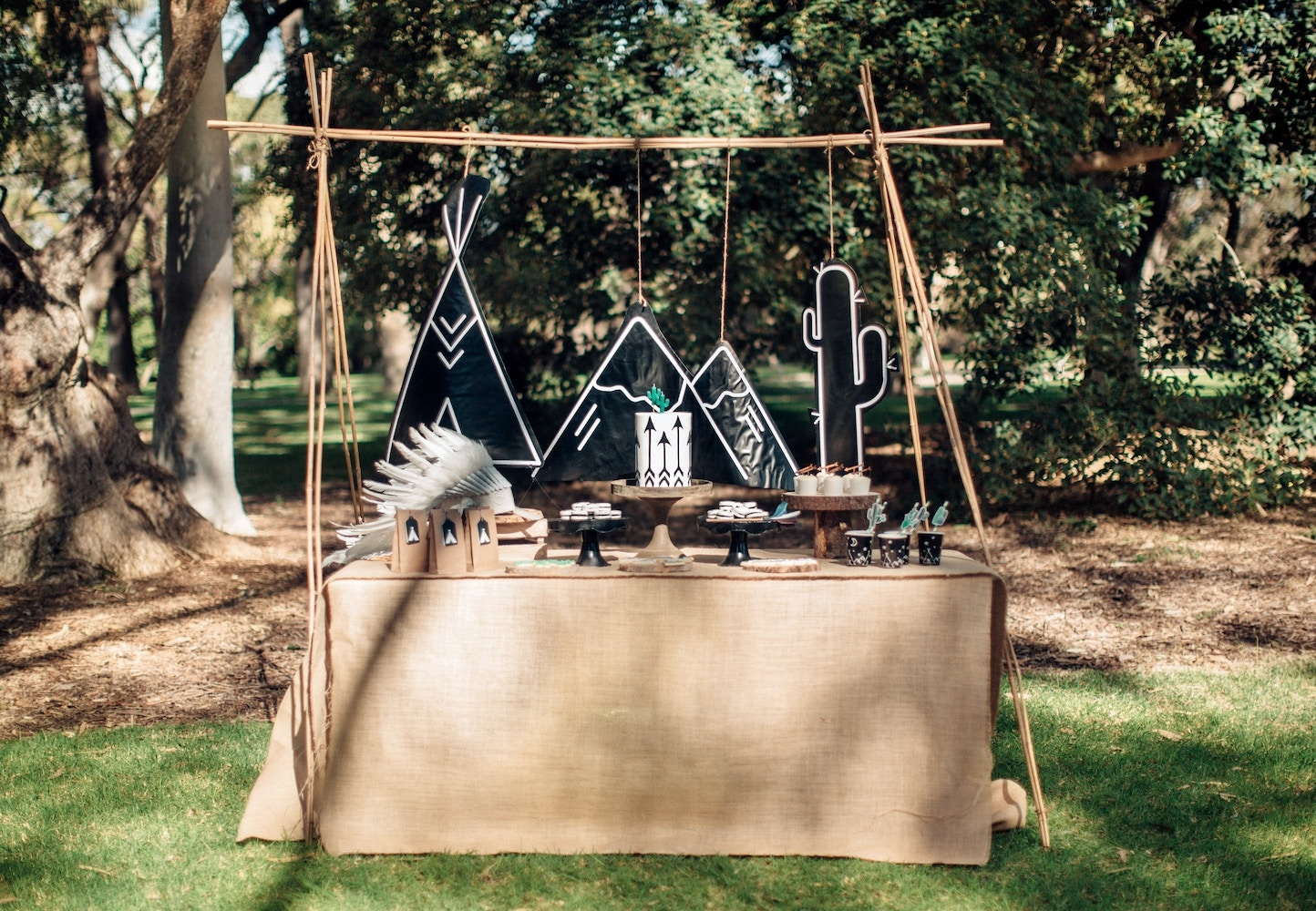 A Modern Teepee Party