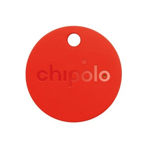 Chipolo Classic Bluetooth Tracker - Key & Mobile Phone Finder in Red