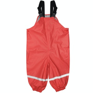 Silly Billyz XL Red Waterproof Overall