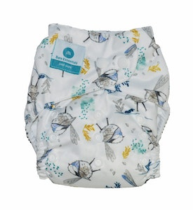 *Snap Bare Essentials One Size Fits Most Nappy - Fairy Bird