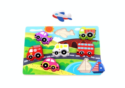 Tooky Toy CHUNKY VEHICLE PUZZLE