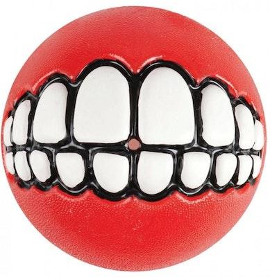 Rogz Ball Grinz Red