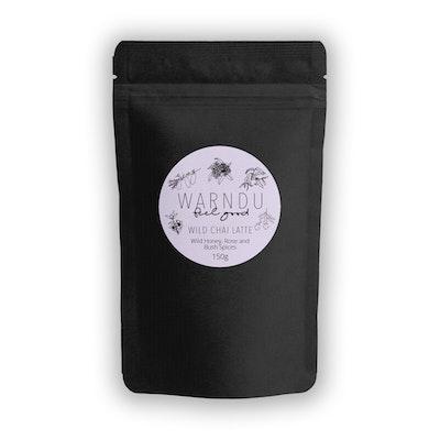 Warndu Pty Ltd Wild Chai Latte ~ Wild Manuka Honey, Rose & Bush Spices. 150g