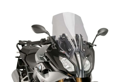 Puig Touring Plus Screen To Suit BMW R1200RS/R1250RS (Smoke)
