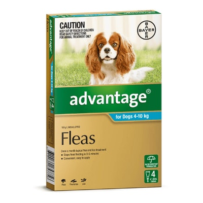 Advantage Flea Treatment 4-10kg Dog