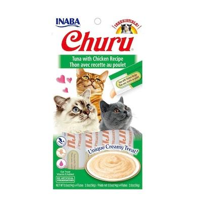 INABA Churu Creamy Cat Treat Tuna w/ Chicken 6 x 56g
