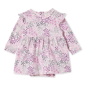 Milky - Patchwork Baby Dress