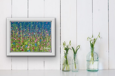 Fiona Adams Artwork Many Blessings - Mini Original painting
