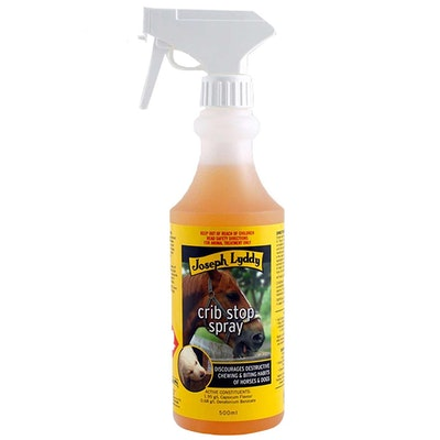 Joseph Lyddy Crib Stop Horses & Dogs Chewing Prevention Spray 500ml