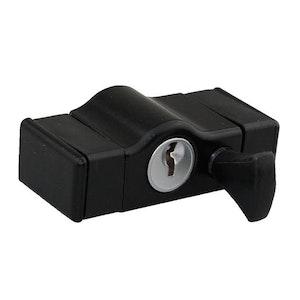 Whitco Sash Window Lock-Black W2205317C4