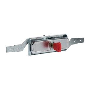Lock Focus Low Profile Roller Door Lock Keyed To Fire Department 003 Key