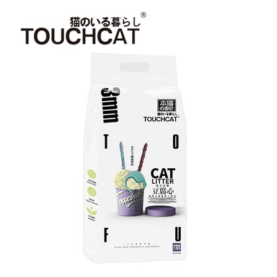 TOUCHCAT Tofu Absorbent and Clumping Cat Litter 2.5kg