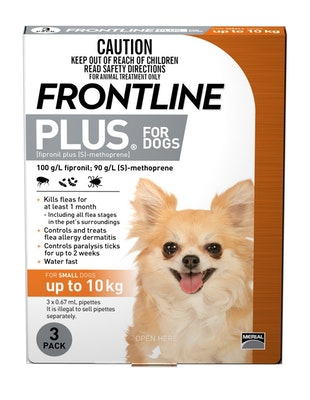 Frontline Plus Up To 10kg