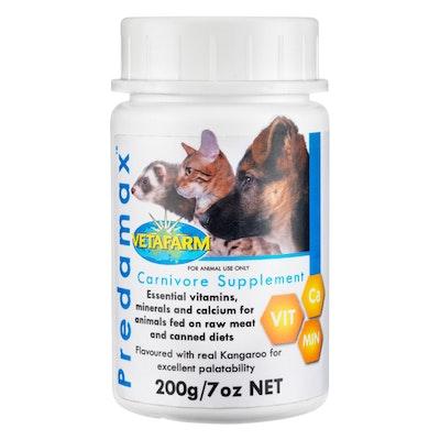 Vetafarm Predamax Calcium Vitamin & Mineral Supplement for Dogs & Cats - 2 Sizes