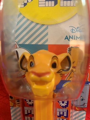 Simba from The Lion King Disney Animals Collection PEZ Dispenser Mint on Card